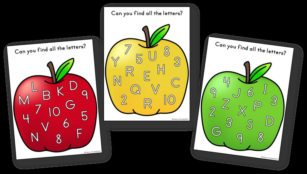 Apple Letter Finding