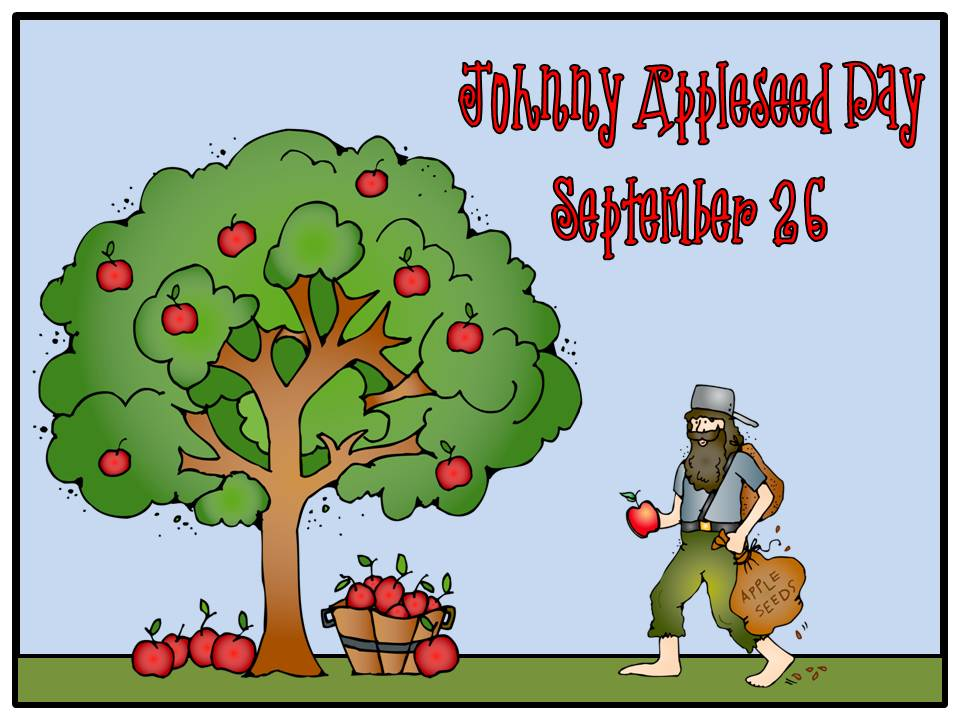 All Things Johnny Appleseed - Apple Theme Link Up - |