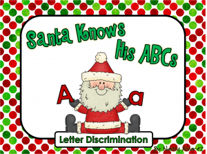 Santa Knows His ABC Product Cover