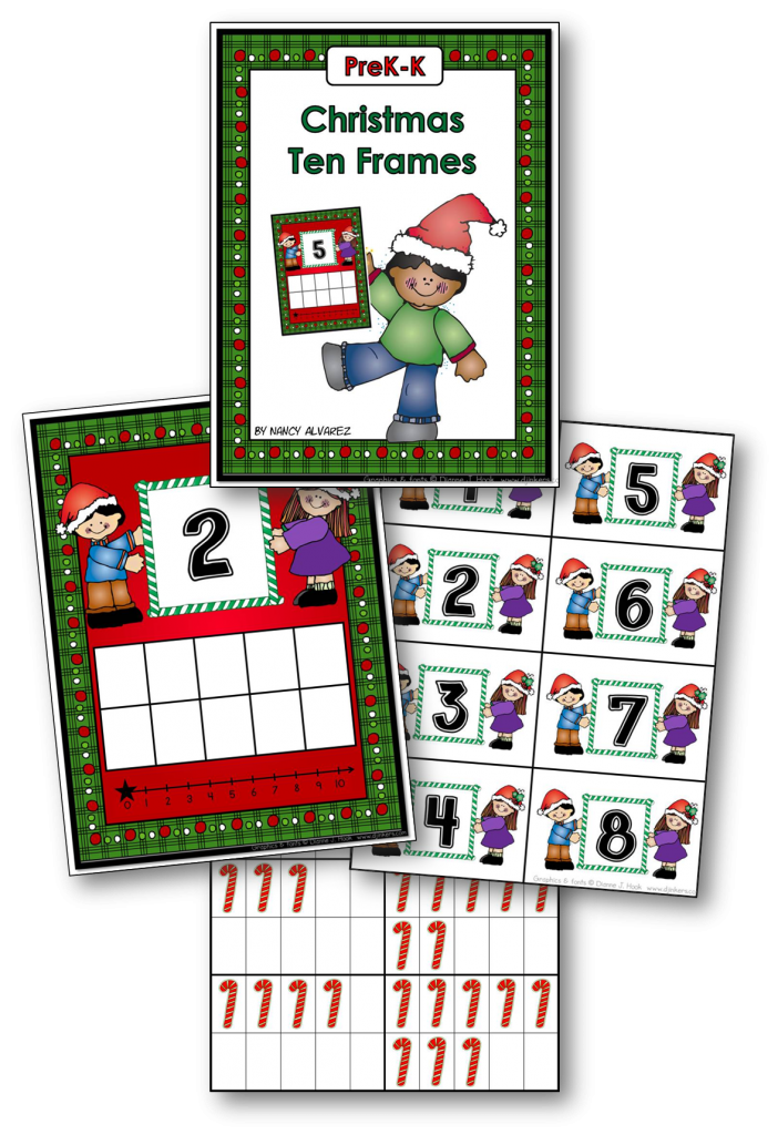 Christmas Ten Frame Freebie