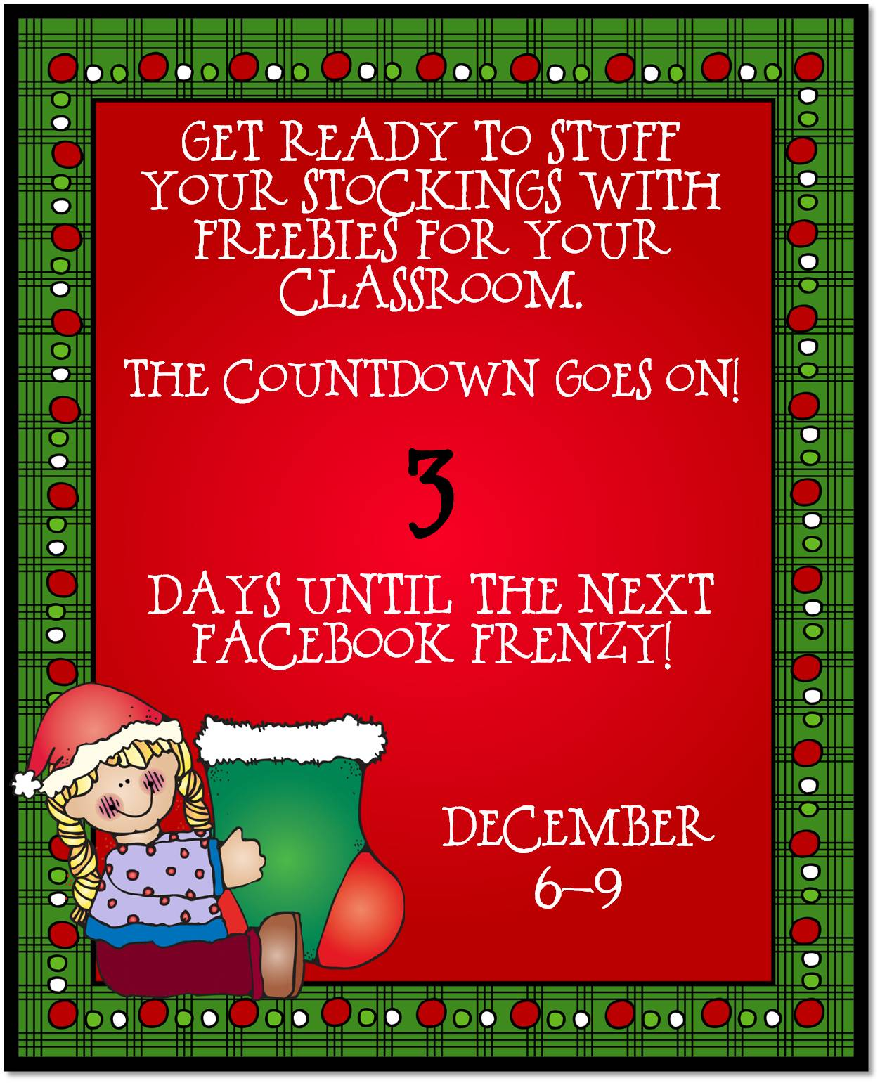 December FB Frenzy Countdown day 3.png