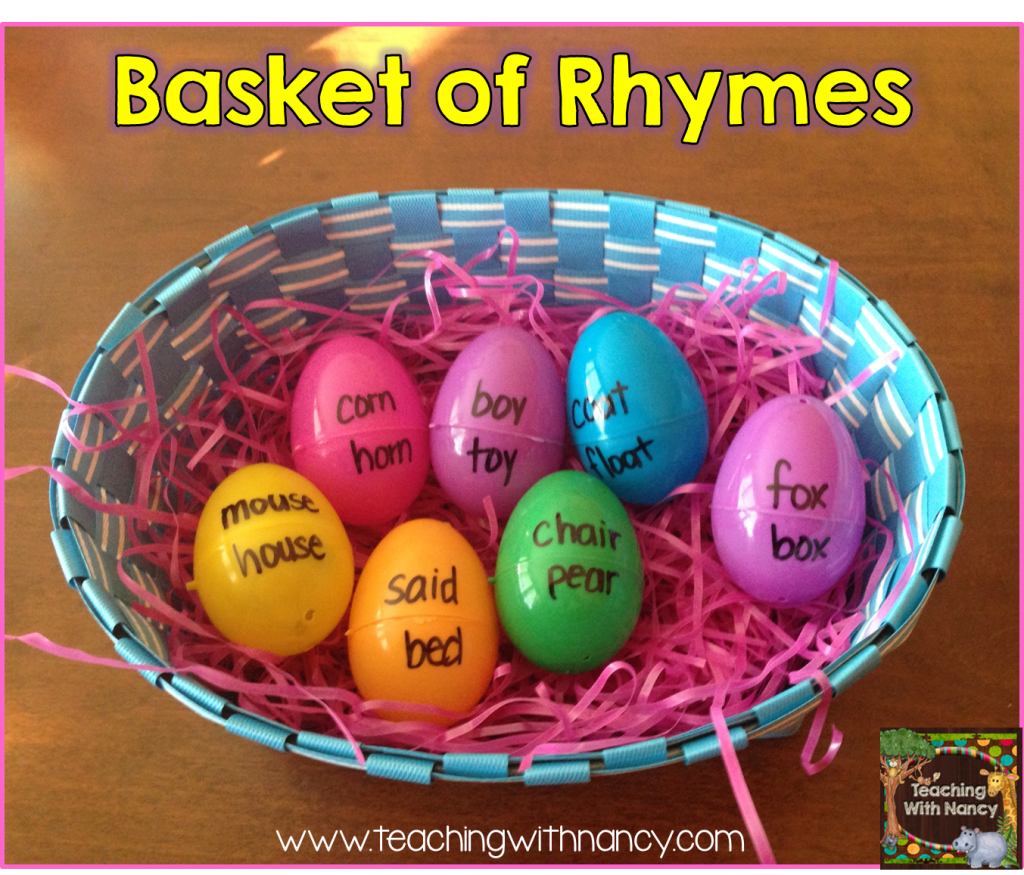 Basket of rhymes
