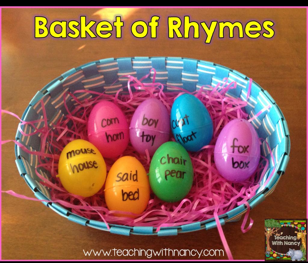 Basket of rhymes
