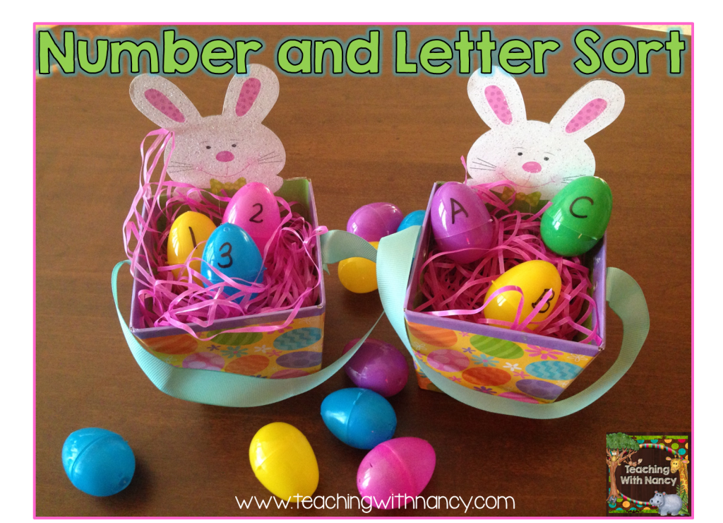 Number and Letter egg sort