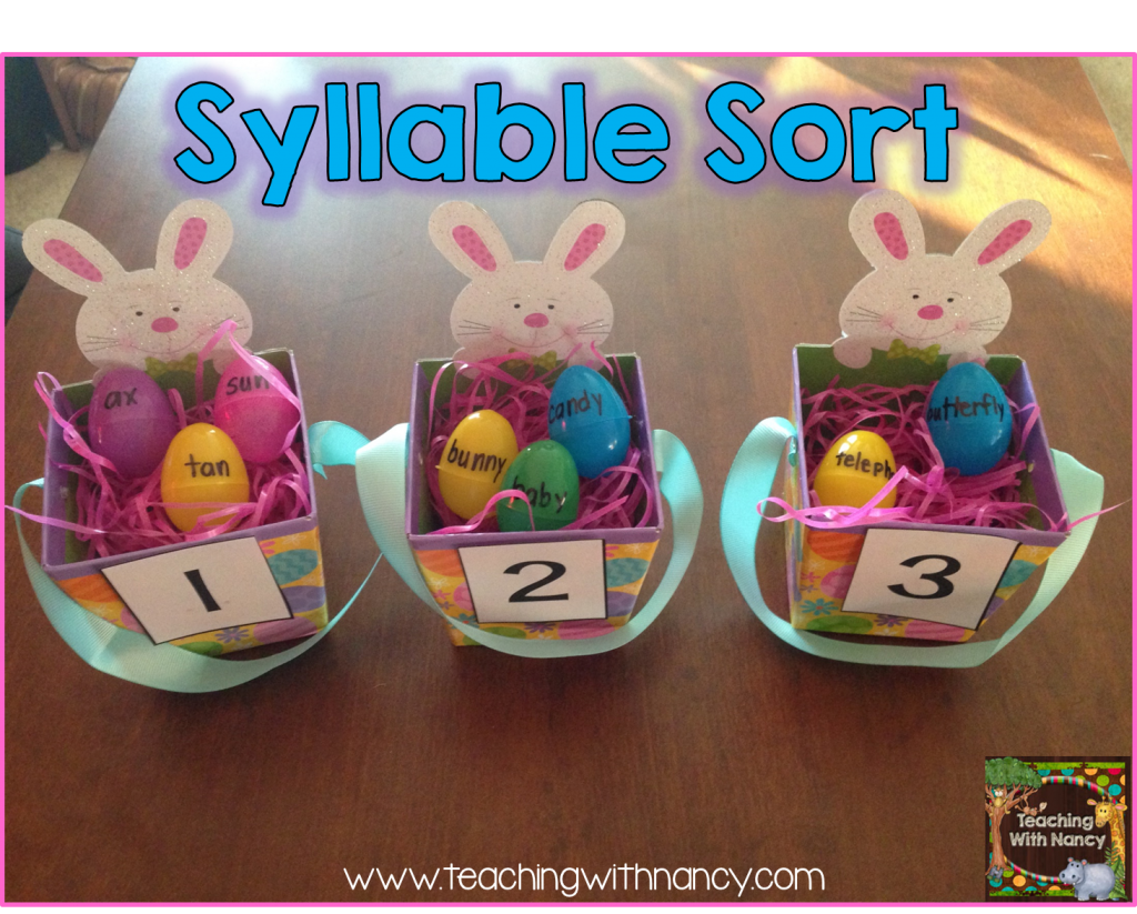 egg syllable sort