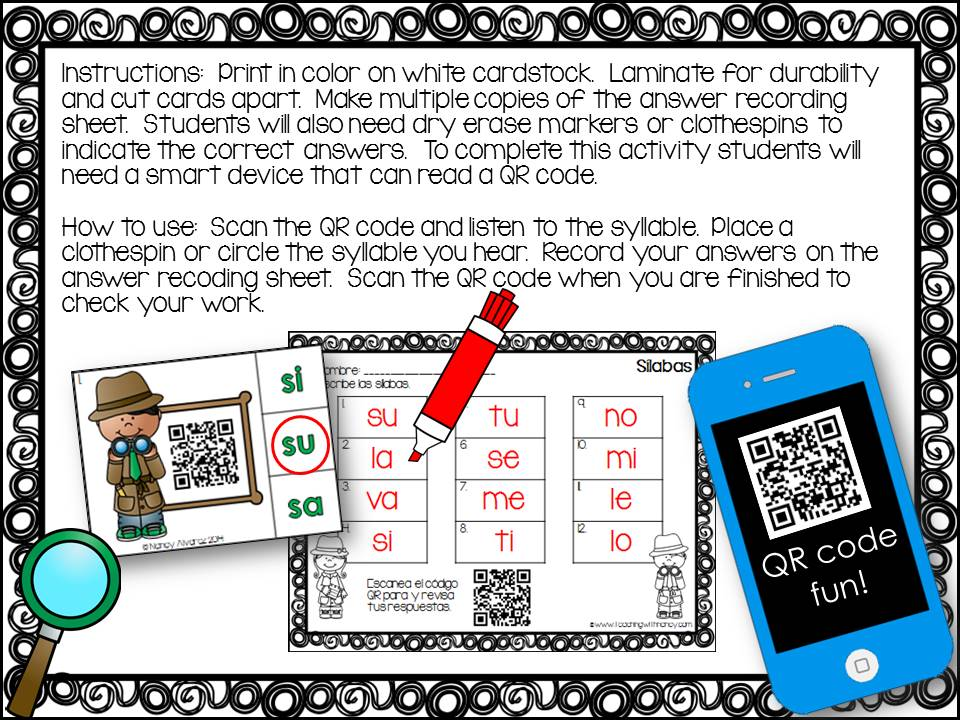 Spanish/ESL - QR and AR in the Classroom
