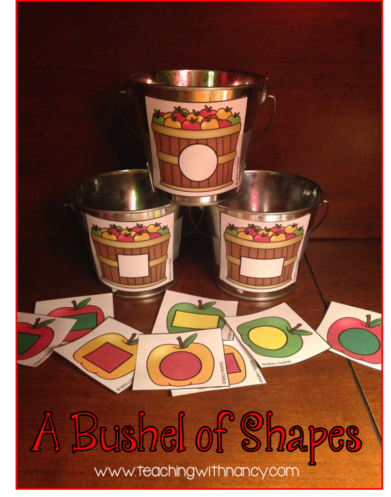 Pinterest Bushel of Shapes