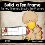 Turkey: Build a Ten Frame