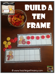 Turkey: Build a Ten Frame