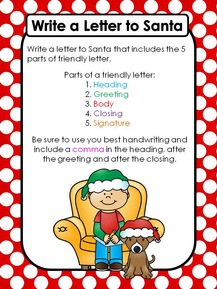 Friendly letter to santa teaching with nancy friendly letter to santa spiritdancerdesigns Images