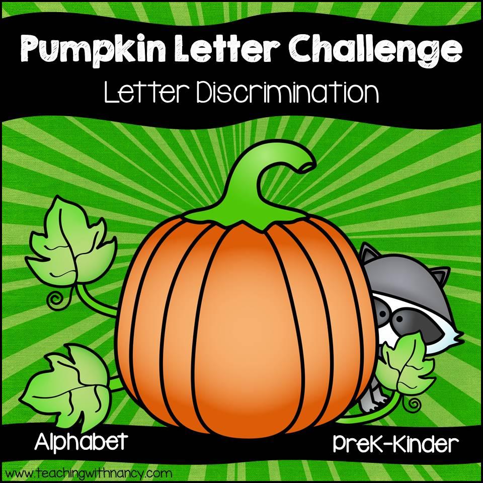 Pumpkin Letter Challenge