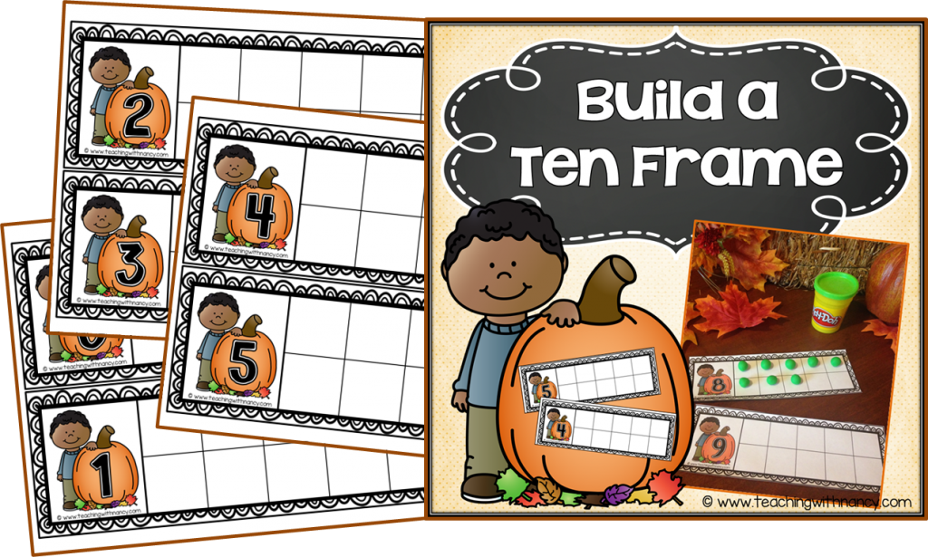 Why Use Ten Frames? | Teaching with Nancy