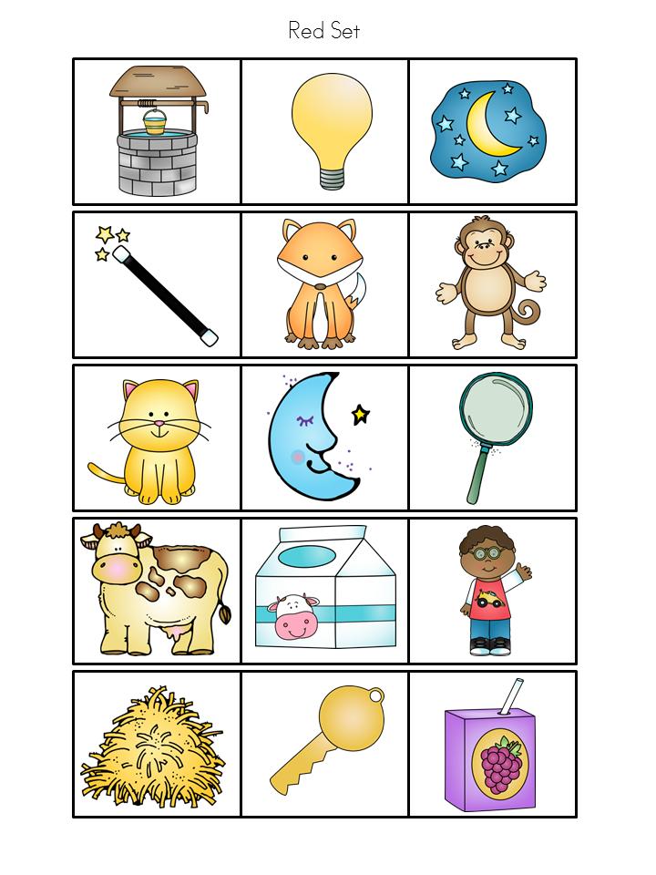Premise Indicator Words: Spanish: Rainbow Theme Syllable Learning Station (Set 1