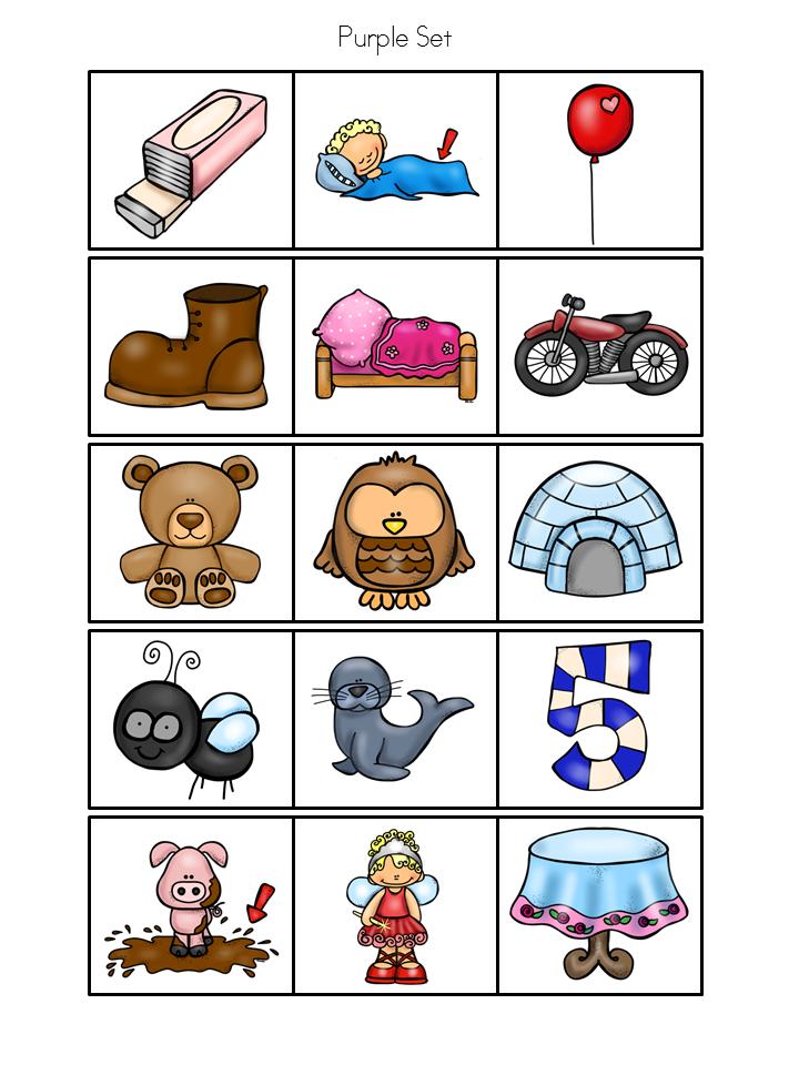Premise Indicator Words: Spanish: Rainbow Theme Syllable Learning Station (Set 2