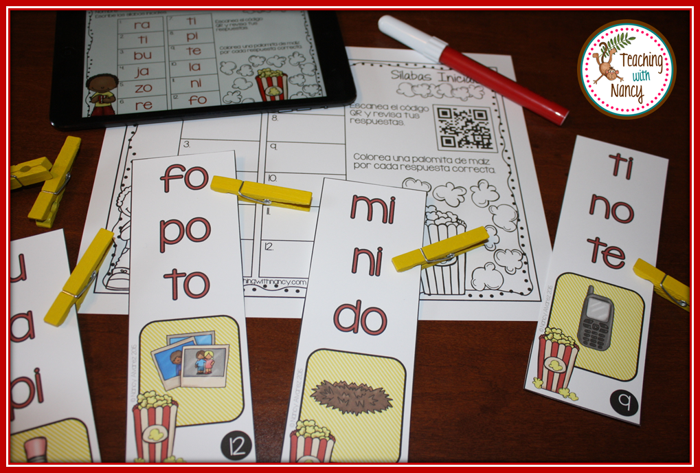 Spanish Initial Syllable Station 2
