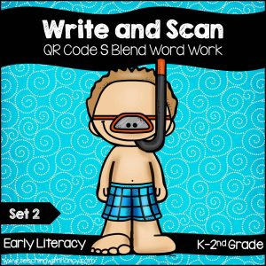 Write and Scan S Blends Set 2