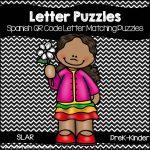 Spanish QR code Letter Puzzles