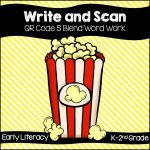 Write and Scan S Blends
