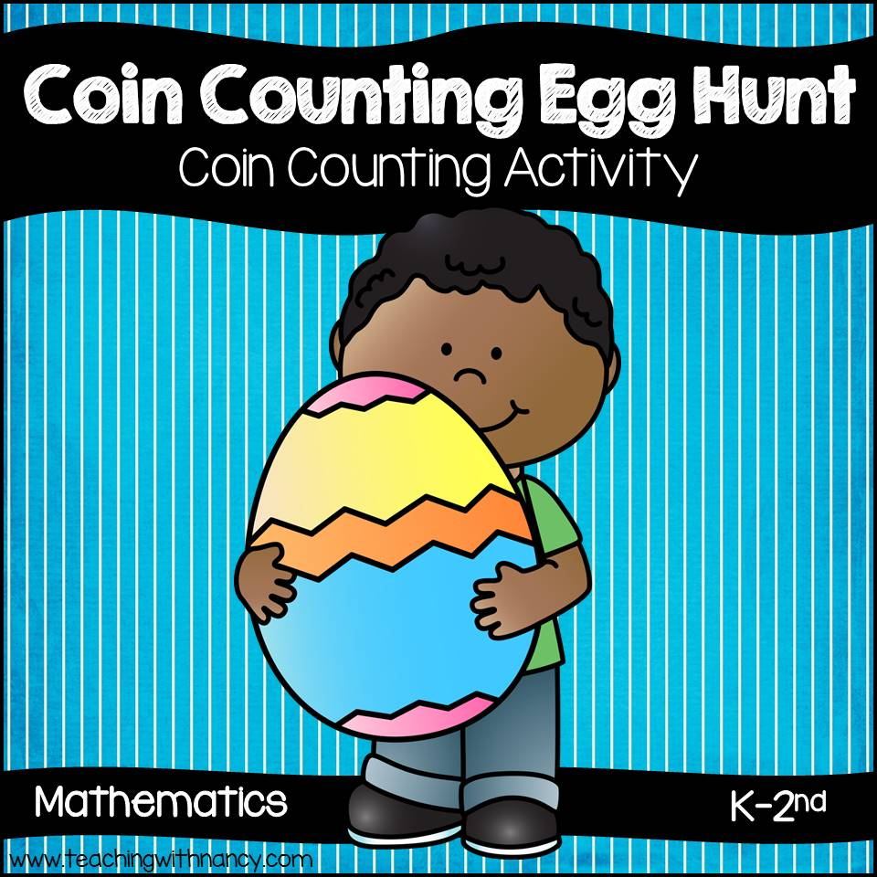 Coin Counting Egg Hunt