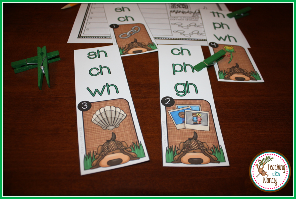 Sound Detective Initial Digraphs