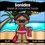 Spanish: Letter Sound QR Code Activity