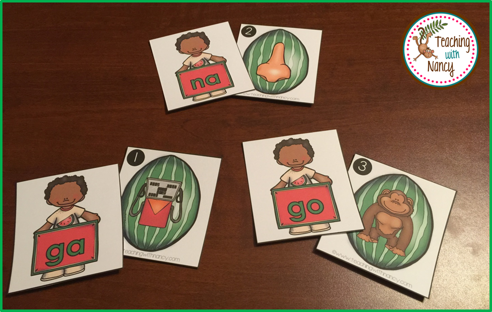 Watermelon Syllable Station 2