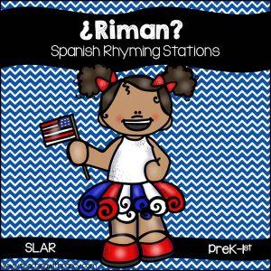 Spanish: QR Code Rhyming Station