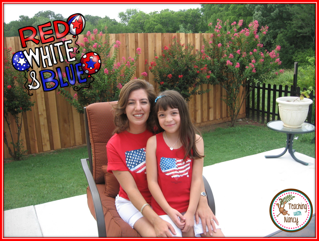 4th of July Photo With Christy