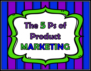 5 Ps of Product Marketing