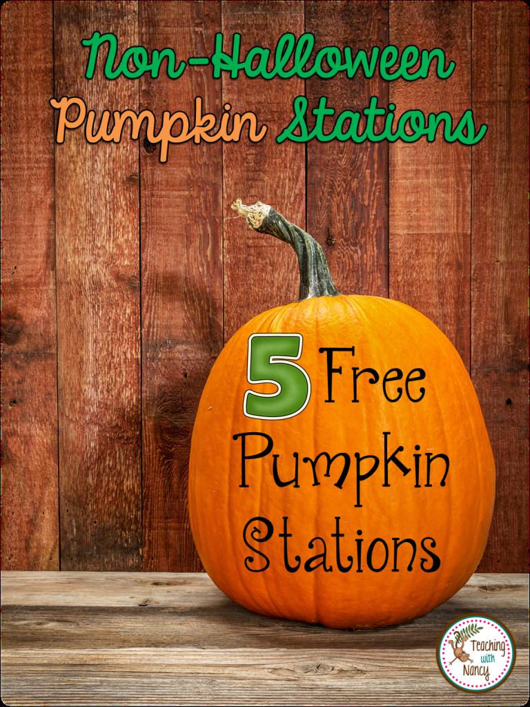 5 non-Halloween Pumpkin Staitons