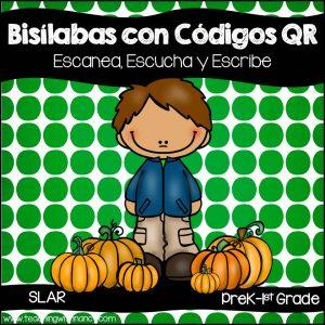 Spanish: Bisilabas QR Code Station