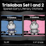 Spanish: Trisilabas Set 1 and 2