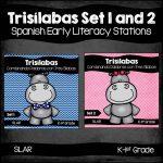 Spanish: Trisilabas Set 1 and 2