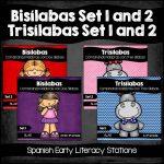 Bisilabas and Trisilabas Bundle