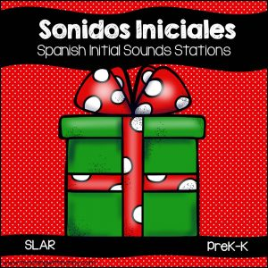 Spanish: Christmas Sonidos Iniciales Stations