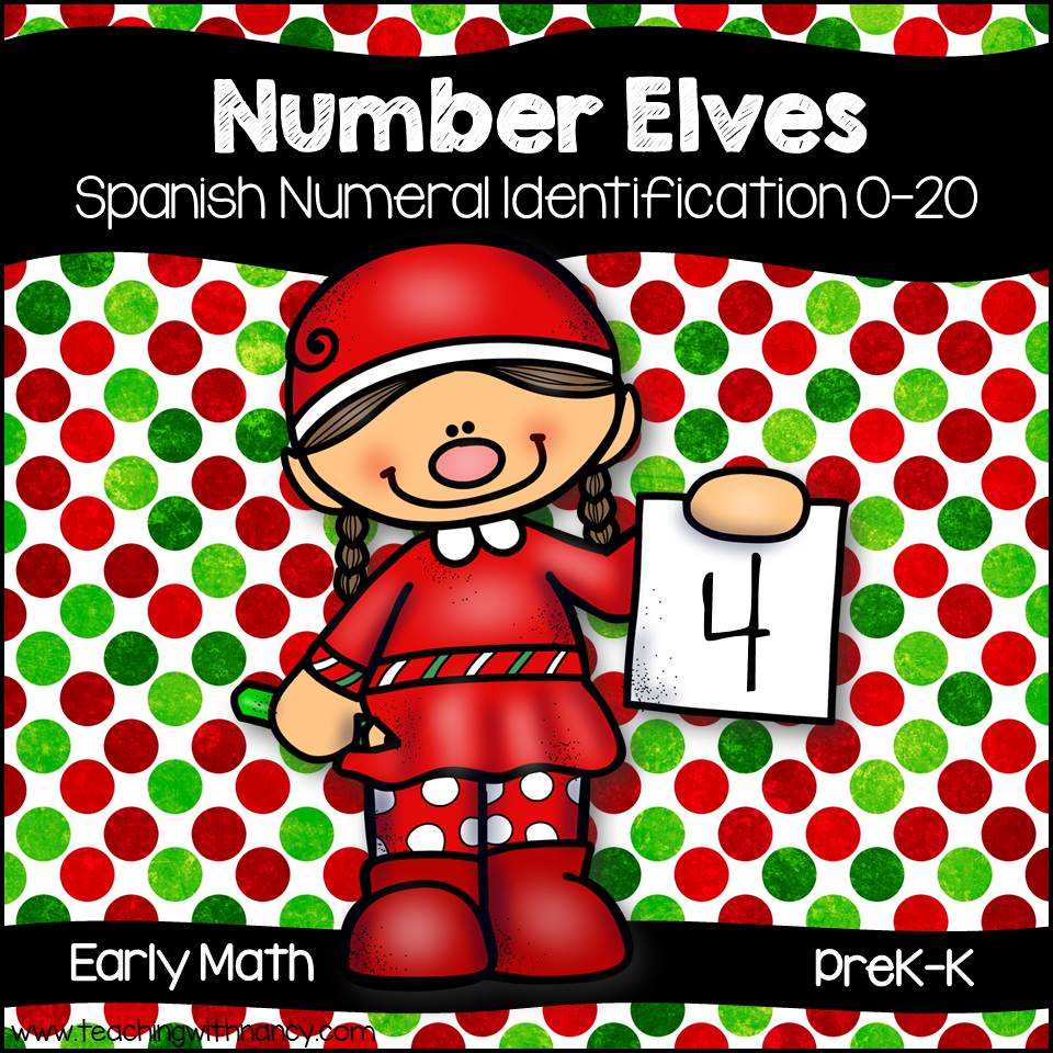 Spanish: Number Elves