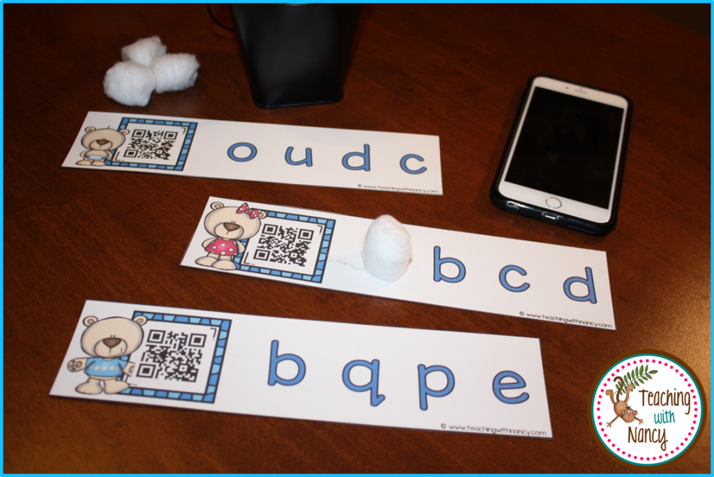 Winter ABC QR Code Stations
