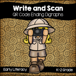 Write and Scan: Ending Digraphs