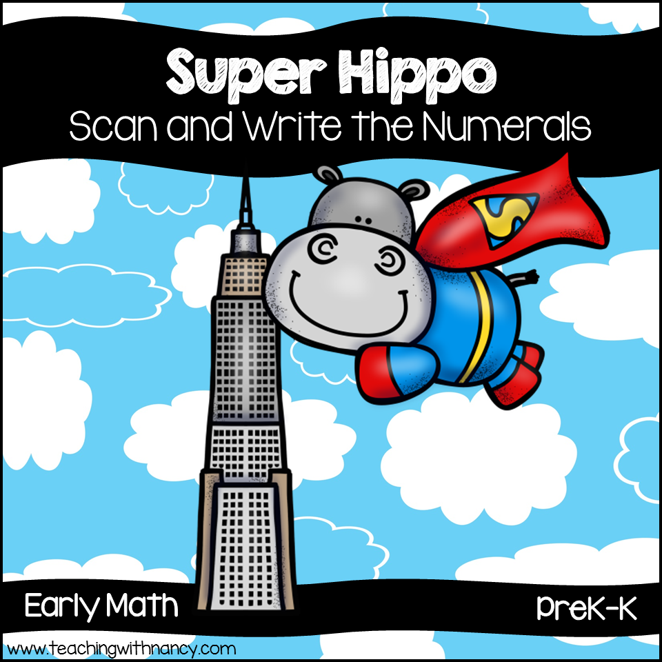 Super Hippo | Teaching with Nancy