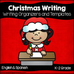 Christmas Writing Organizers