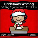 Christmas Writing Organizers