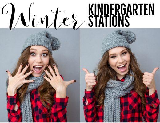 Winter Kindergarten Stations
