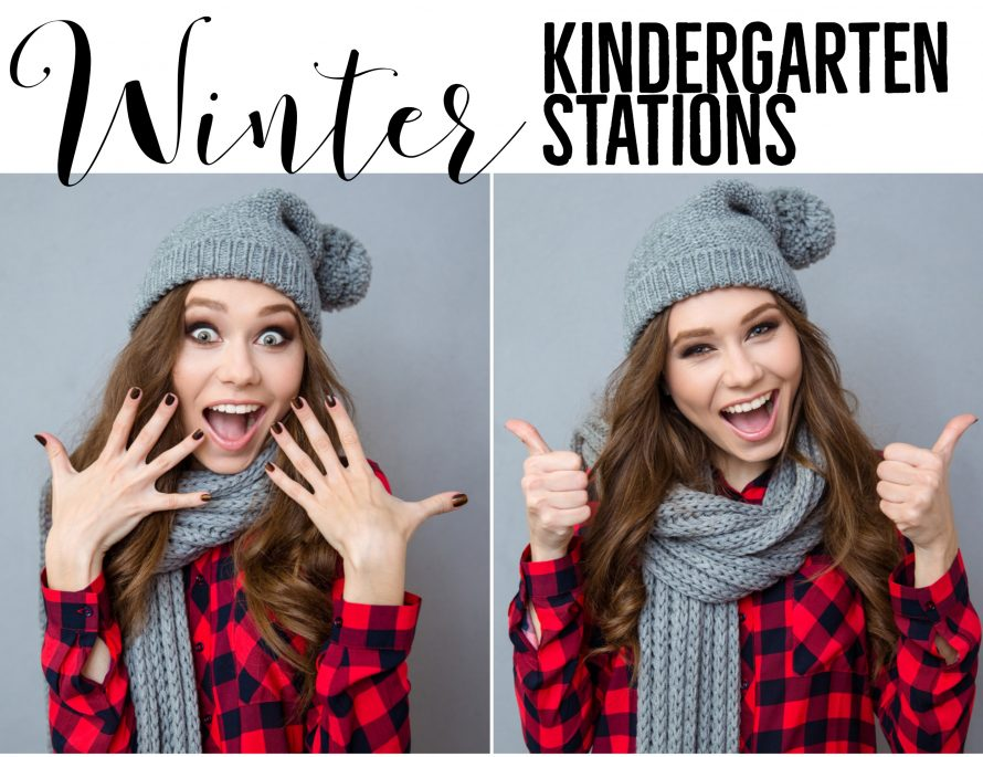 Winter Kindergarten Stations