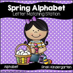 Spring Alphabet