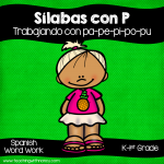 Spanish: Sílabas con P